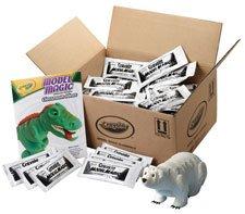 Crayola® 236001 - MODEL MAGIC MODELING COMPOUND, 1 OZ EACH PACKET, WHITE, 75 OZ