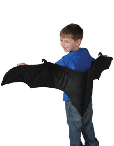 Rinco Products Vampire Bat Plush Costume Wings - 1