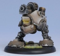 Privateer Press - Warmachine - Mercenary: Grundback Blaster Model Kit