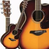 Yamaha FSX730SC BS Acoustic Electric Guitar, Brown Sunburst
