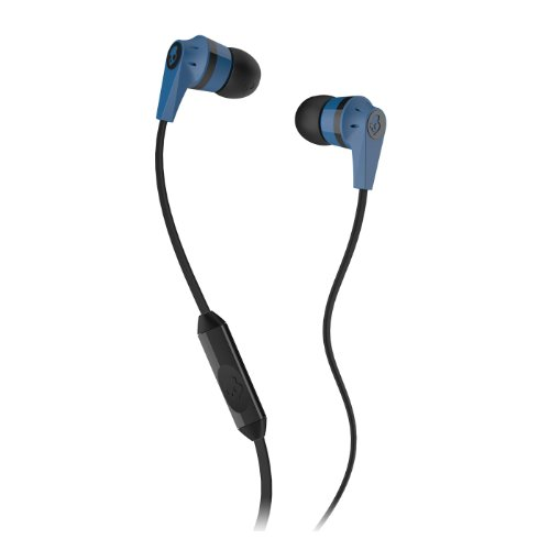 Skullcandy Ink'd 2.0 In-Ear Headphones with Mic - Blue/Black