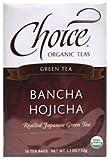 Choice Organic Teas Ban-Cha, Daily Japanese Green Tea, (Case of 6) / 16 Bags