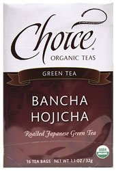 Choice Organic Teas Ban-Cha, Daily Japanese Green Tea, (Case Of 6) / 16 Bags