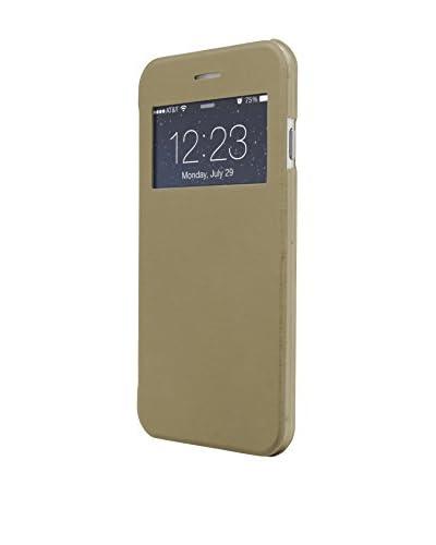Unotec Funda Flip-S iPhone 6 Plus / 6S Plus Dorado