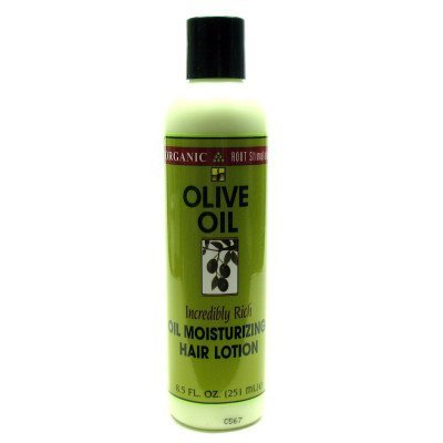 Organic Root Stimulator Hair Lotion, Olive Oil Moisturizing, 8.5 oz.