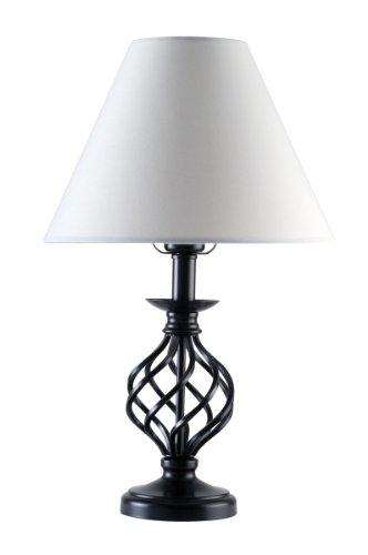 ml5g261wi gu24 26 watt fluorescent 20 inch table lamp lamps sale. Black Bedroom Furniture Sets. Home Design Ideas