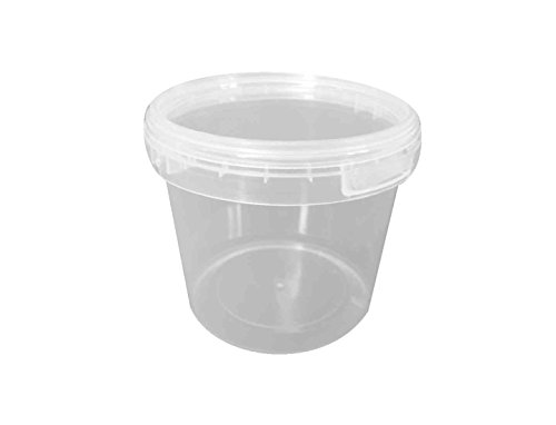 Choice-Pac 3So-1667 Polypropylene Round Tub With Lid, Semi-Clear, 64-Ounce (Case Of 100)
