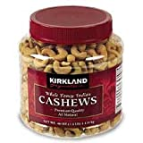 Kirkland Signature Fancy Indian Cashews-40 oz