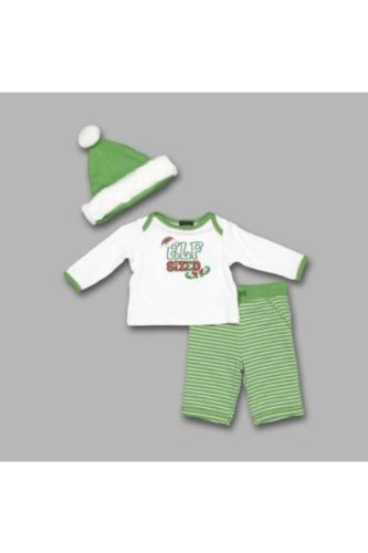 Embroidered Boys' 3-Piece Set Baby Christmas Clothing Outfit Set