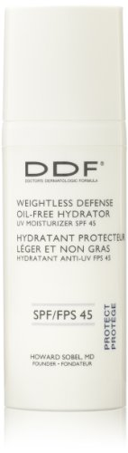 DDF Weightless Defense Oil-Free Hydrator UV Moisturizer SPF 45