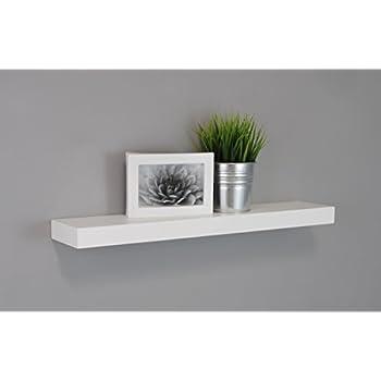 Kiera Grace Maine Wall Shelf, 24-Inch, Pack of 3, White