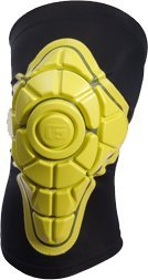 Buy G-Form Knee Pad XS-Black Yellow Skateboard Pads by G-Form