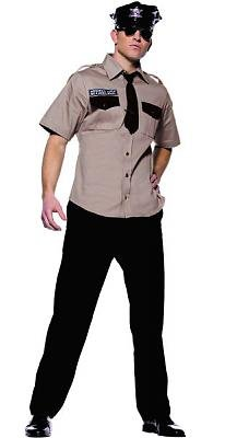 Arresting Office Men's Costume