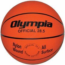 Deluxe Rubber Basketball - Intermediate by Olympia Sports