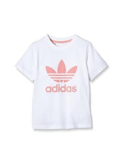 adidas Camiseta Manga Corta I Trefoil Tee Blanco