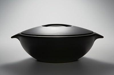 Declare ディクレア IH土鍋 (ガス直火・IH調理器対応) Mサイズ/ブラック DC-001BM