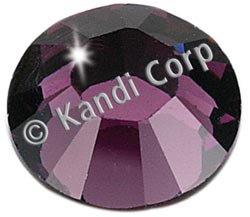 Kandi Corp Hotfix Swarovski Crystals 4mm Amethyst 24/Pkg K124-03; 3 Items/Order