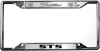 cadillac-sts-license-plate-frame-by-eurosport-daytona