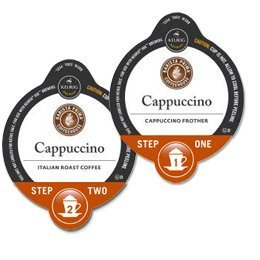 Barista Prima Cappuccino Italian Roast Coffee Keurig Vue Portion Pack, 32 Count