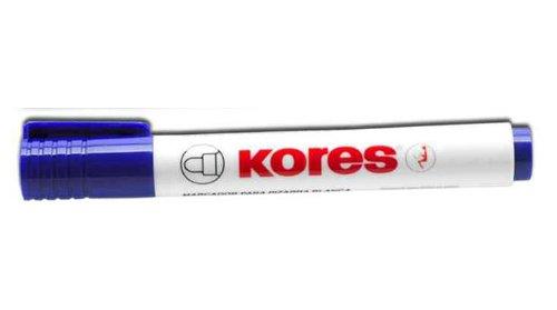 Kores Marqueur pour tableau blanc Pte ogive 3mm Bleu
