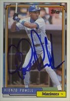 Alonzo Powell Seattle Mariners 1992 Topps Autographed Hand Signed Trading Card. by Hall+of+Fame+Memorabilia