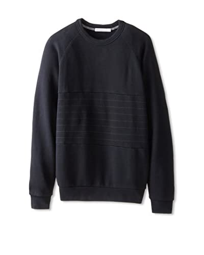 Alternative Men's Quilted Crew Neck Pullover