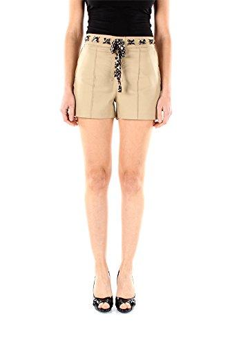 MS53GDKC64KHAKI-Michael-Kors-Shorts-Femme-Coton-Beige