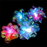 Set of 12 Light Up LED Gift Bows