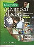Discovering Advanced Algebra: An Investigative Approach, 2nd Edition