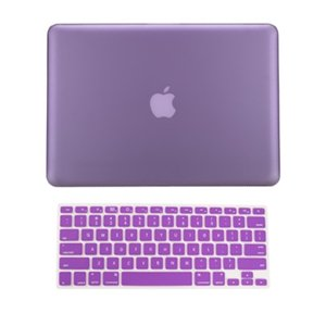 TopCase 2 in 1 Rubberized PURPLE Hard Case Cover