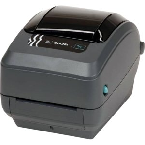 Zebra Gk420T Direct Thermal/Thermal Transfer Printer - Monochrome - Desktop - Label Print. Gk420 Tt Usb Serial Cp Us Bp-Lb. 5 In/S Mono - 203Dpi - Usb