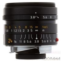 Leica 24Mm F/3.8 Elmar-M Asph Wide Angle Lens For M System - Usa