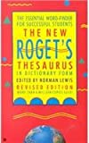 img - for The New Roget's Thesaurus in Dictionaryform book / textbook / text book
