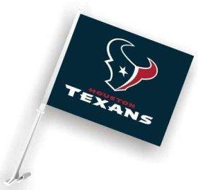 NFL Houston Texans Navy Blue Car Flag