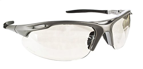 Pyramex Avante Safety Eyewear, Indoor/Outdoor Mirror Lens With Silver Frame