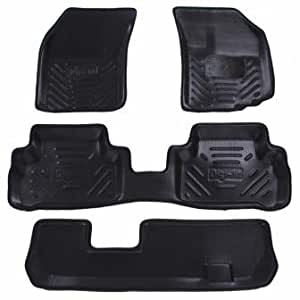 Digifit Tan Interior Car Floor Mats For Honda Mobilio