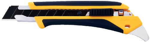 OLFA-1072198-LA-X-18mm-Fiberglass-Rubber-Grip-Heavy-Duty-Utility-Knife