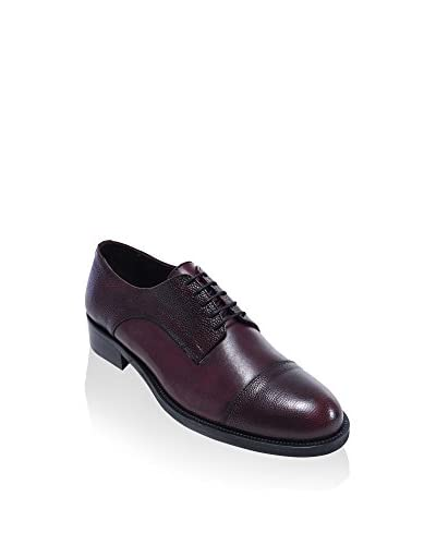 BRITISH PASSPORT Derby Toe Cap bordeaux