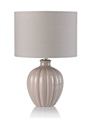 Ceramic Onion Bedside Table Lamp