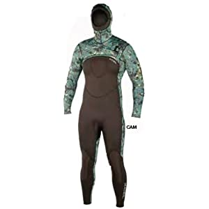Xcel HECS STEALTHSCREEN Men's 5/4mm Camo Hooded Fullsuit