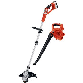 Black & Decker LCC140 40-volt Max String Trimmer and Sweeper Lithium Ion Combo Kit photo