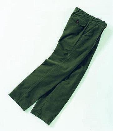 Laksen ~ Moleskin Trousers Olive 35/36