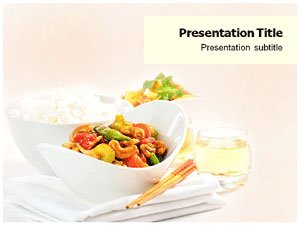 Chinese food powerpoint templates chinese for Asian cuisine ppt