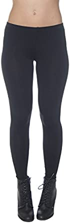 Active Basic Women's Basic Ankle Length Leggings Small Black