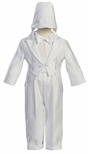 white-round-tail-satin-christening-baptism-5-piece-tuxedo-accented-with-an-embroidered-cross-and-hat