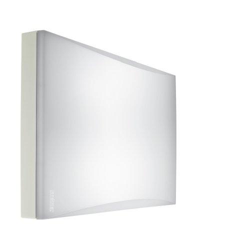 Steinel FRS 20 SensorLeuchte für Wand- und Deckenmontage, Innenbereich mit Schlagfester Kunststoffhaube weiß