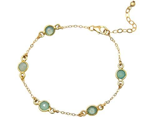 gemshine-damen-armband-925-sterling-silber-vergoldet-aqua-chalzedon-18-cm
