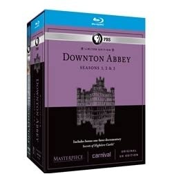 Masterpiece: Downton Abbey Season 1 & 2 & 3 [Blu-ray]