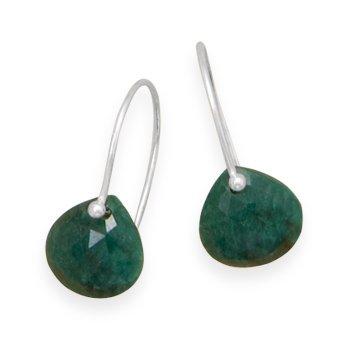 rough-cut-emerald-earrings