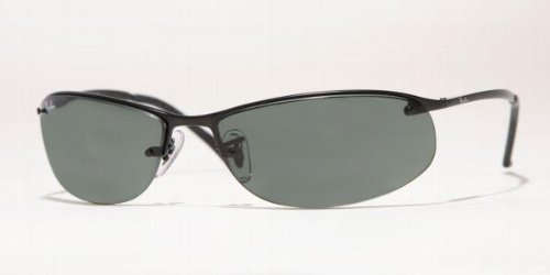 Ray-Ban Unisex RB3179 Sunglasses,Black Frame/Grey